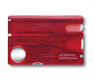 Victorinox Swisscard Nailcare rood  0.7240.T